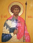 Martyr Menas the Melodius of Alexandria